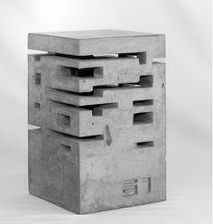 Escultura de concreto