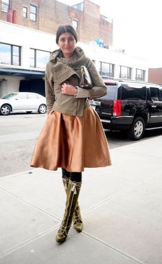 Love the fabric mix. That Gio, she's so good. New York Fashion Week Fall 2012