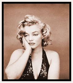 Marilyn, photographed by Richard Avedon