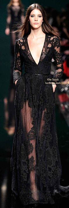 The Best Gowns of Fall 2014 Fashion Week International: Elie Saab FW 2014 #ParisFashionWeek