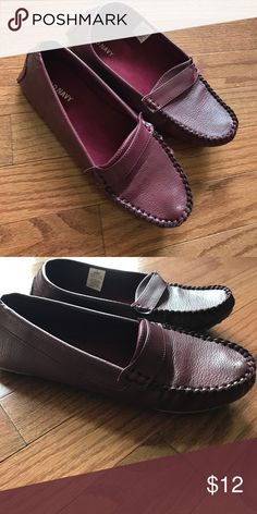 NEVER BEEN WORN! - Old Navy loafers Deep purple loafers - never been worn! Old Navy Shoes Flats & Loafers