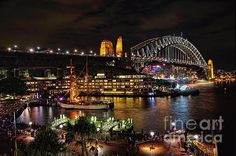#COLORFUL #ACTIVITY #SYDNEY #HARBOUR by #Kaye #Menner #Photography Quality Prints, Cards and more at: http://kaye-menner.artistwebsites.com/featured/colorful-activity-sydney-harbour-by-kaye-menner-kaye-menner.html