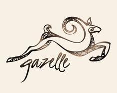 gazelle with sassy nostrils