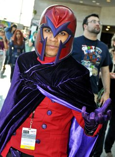 https://flic.kr/p/oJ6NJs | Magneto Cosplay | New York Comic Con 2014. Photos by Mike Rogers