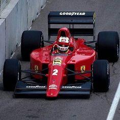 Nigel Mansell FERRARI 640 Tipo 036 () - https://www.luxury.guugles.com/nigel-mansell-ferrari-640-tipo-036/