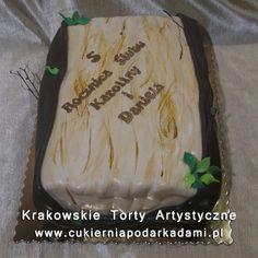 198. Tort na rocznicę slubu. Cake for wedding anniversary.