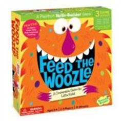 Kid's Board Game - Feed the Woozle Preschool Skills Builder Game Peaceable Kingdom Press Group planning; Preschool Board Games, Board Games For Kids, Kids Board, Game Boards, Games For Little Kids, Educational Toys For Preschoolers, Therapy Games, Speech Therapy, Play Therapy