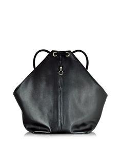 MM6+Maison+Martin+Margiela+%2F+%83%81%83%5D%83%93%83%7D%83%8B%83%5E%83%93%83%7D%83%8B%83W%83F%83%89+Black+Leather+Backpack%2FTote+Bag