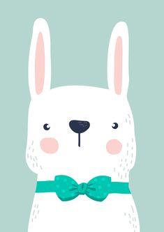 Baby Animal Drawings, Cute Drawings, Kids Room Art, Art For Kids, Nursery Prints, Nursery Art, Decoration Creche, Baby Wall Decor, Animal Doodles