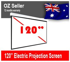 cheap home theatre electric pull down projector screen