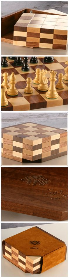 Handcrafted in the Pennsylvania backcountry from 3 natural materials: hardwood, seude, and magnets, this beautiful chess board (chess pieces not included) is the intersection of art, originality, and function. #handmade #wood