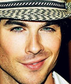 Ian Somerhalder  I just don't understand how he is real.  so beautiful  Dang you Vampire Diaries