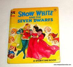 Snow White and the Seven Dwarfs Vintage by AntiquesGaloreGal