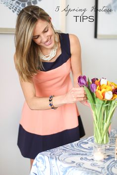 5 simple spring party hostess tips
