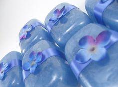 Rainflower glycerin soap by amandalouise on Etsy