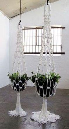 Vintage Macrame Plant Hanger Ideas 39