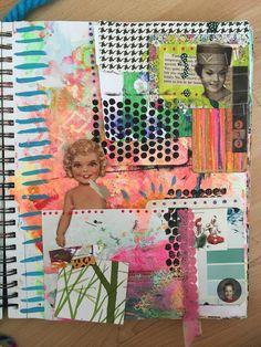 Combing art journals