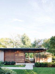 Efecto camuflaje: Una casa en la naturaleza