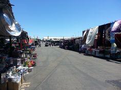 Selling at a Flea Market