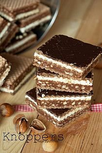 knoppers Desserts Menu, No Bake Desserts, Delicious Desserts, Yummy Food, Puff Pastry Recipes, Sweets Cake, Polish Recipes, How Sweet Eats, Homemade Cakes