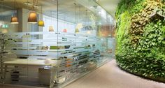 Atrium has designed the new offices of tech company Yandex located in Moscow, Russia. Atrium's project for Yandex headquarters started with a closed Commercial Interior Design, Commercial Interiors, Office Wall Graphics, Glass Partition, Office Walls, Retail Space, Environment Design, Atrium, Office Interiors