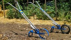 Diy Bicycle Garden Plow Convert An Old Used Bicycle Into