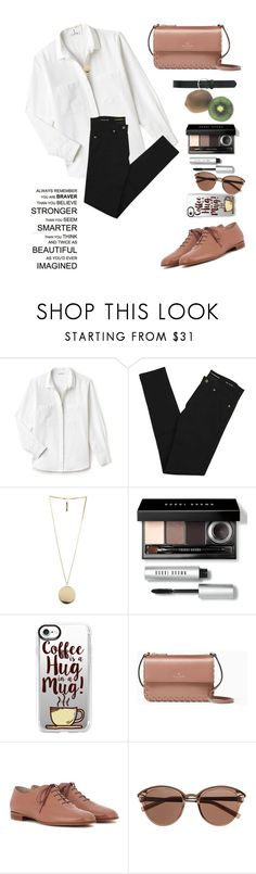 """♡"" by demon-next-door ❤ liked on Polyvore featuring Lacoste, Yves Saint Laurent, Givenchy, Bobbi Brown Cosmetics, Casetify, Kate Spade, Gianvito Rossi, Witchery and M&Co"