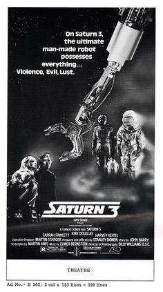 Saturn 3 movie advertising