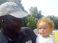 A truck driver saved an adorable baby girl after spotting her crawling alongside a highway in Georgia. He immediately pulled over and rescue...