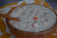 The Tasty Alternative: Thick and Creamy Dairy-Free New England Clam Chowder (SCD & Paleo) - USE GF BROTH