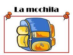 Spanish Classroom Objects Presentation, Word Wall, Student