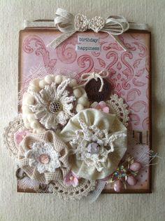 """Birthday Happiness"" Handmade Card"