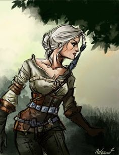 Ciri by Arkroot