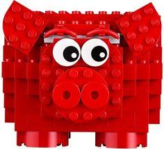 [樂砌] LEGO 40155 紅色小豬 撲滿 存錢筒 零錢桶 *全新未拆* Piggy Coin Bank 樂高 積木