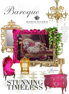"""Modern Baroque Inspiration"" by beckyblacey on Polyvore"