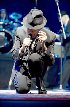 / Leonard Cohen...best concerts I've ever been to and that is saying a lot