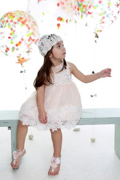 Girls Special Occasion Peach Dress with Floral Lace Michiamo Children's Wear, Special Occasion Dresses & Sets Kids Clothing Brands, Fashion Cover, Designer Kids Clothes, Stylish Kids, Kids Wear, Special Occasion Dresses, Floral Lace, Kids Outfits, Luxury Fashion