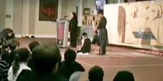 Embedded image- Watch: Muslim children in a mosque in Canada practicing beheading of infidels - Free Speech Time Out Of Touch, Alternative News, Conservative Politics, 4 Year Olds, Mosque, 4 Years, Teaching Kids, Ontario, Muslim