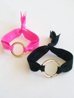 Hair tie/bracelet.