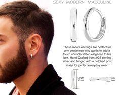 GENUINE 925 Sterling Silver Cross X Cubic Zirconia Half Hoop Earrings UK New