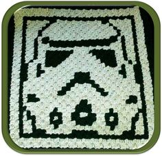 Crochet pattern for Star Wars Stormtrooper (available on Etsy) Click here to purchase £3!