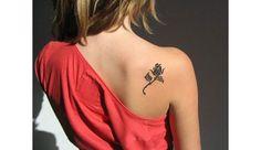 rose tatouage   GLAMOUR PARIS