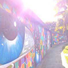 Graffiti wall - Miami Design District
