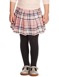 Checked Kilt Skater Skirt (1-7 Years)