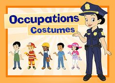 As part of our Occupations unit, your child can dress up his or her avatar as a police officer, nurse, teacher, and more.