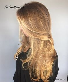 Layered Haircut For Long Fine Hair Click image for info Best Long Haircuts, Short Hairstyles Fine, Long Layered Haircuts, Haircuts For Fine Hair, Layered Hairstyles, Trendy Hairstyles, Haircut Long, Cut Hairstyles, Long Fine Hair