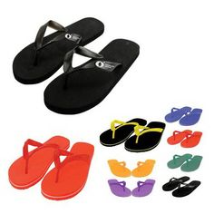 f8d60eb0e These promotional flip flops are comfortable and will be a fun summer  giveaway. Perfect for corporate events
