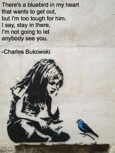 #ragingrhetoric #bukowski #bluebird    https://facebook.com/ragingrhetoric/