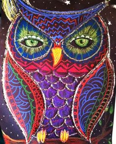 Owl art projects for elementary | Found on jacksonsartroom.blogspot.com