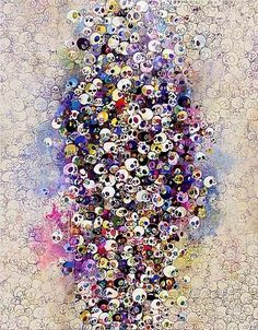 Takashi Murakami, Who's Afraid of Red, Yellow, Blue and Death on ArtStack #takashi-murakami-cun-shang-long #art